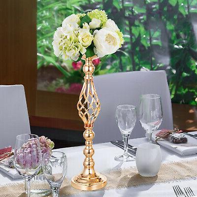 4pcs Set Wedding Flower Rack Vase