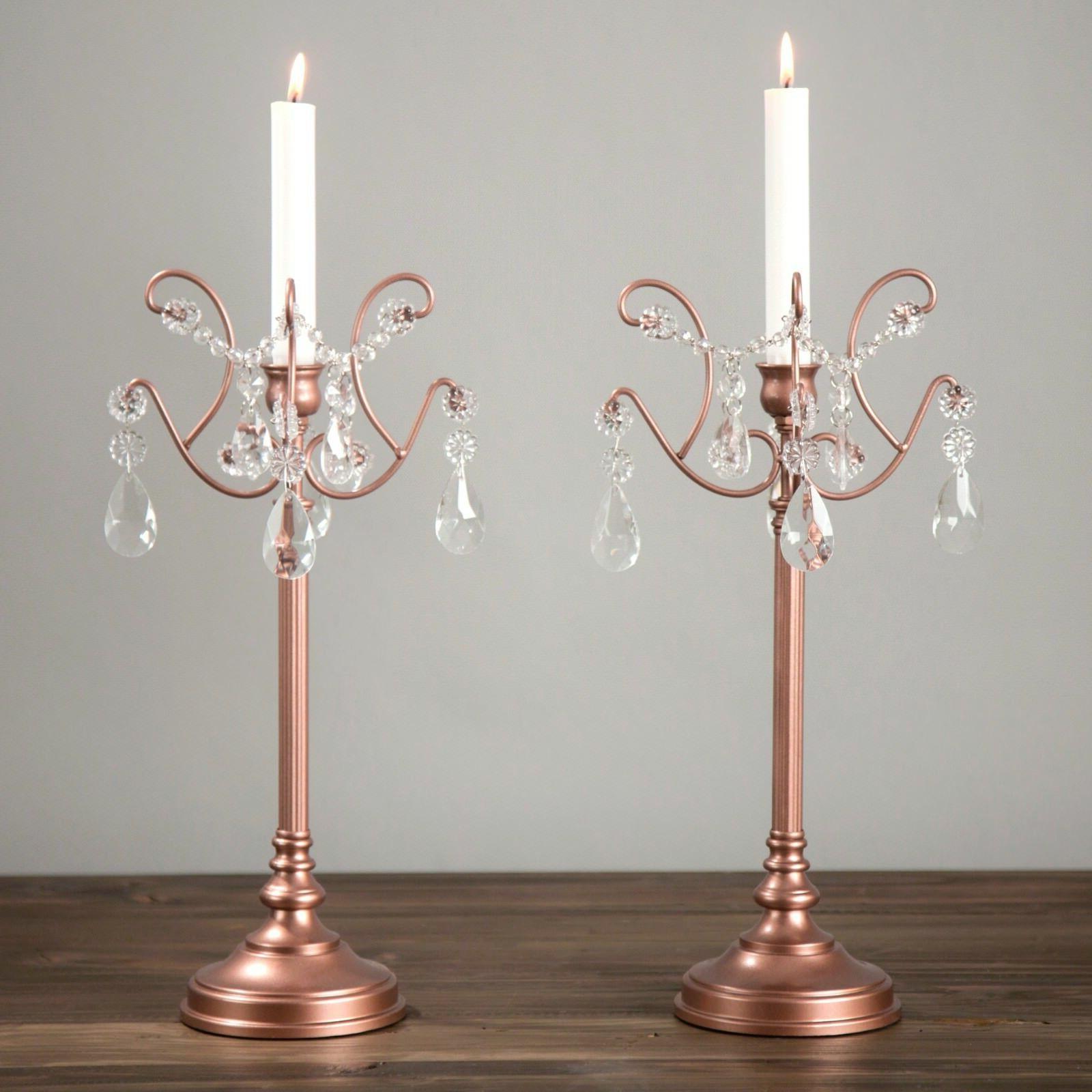 2 piece candlestick candle holder set candelabra