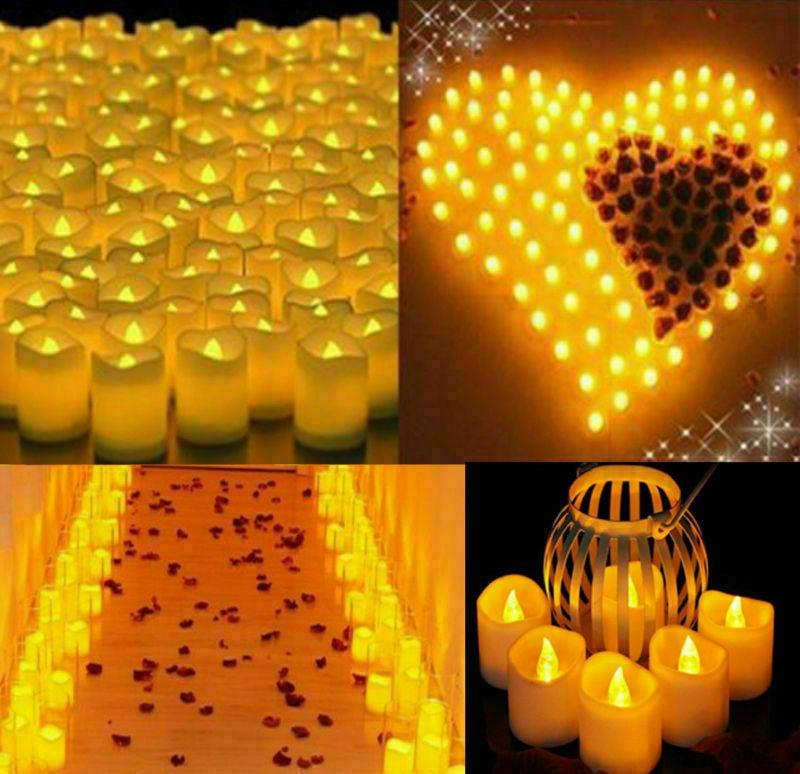 24 Candles LED Tea