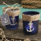 25 Anchor Design Candle Holder Nautical Beach Theme Wedding