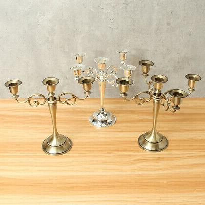3/5 Arms Wedding Romantic Table Craft Candelabra Candle
