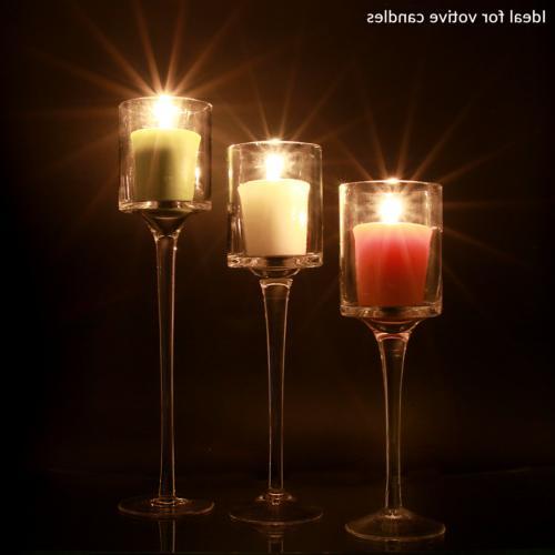 3 Candle Stick Tea Light Candle Holders