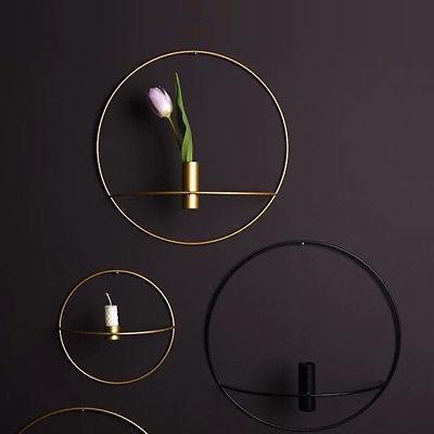 3D Geometric Light Home Metal
