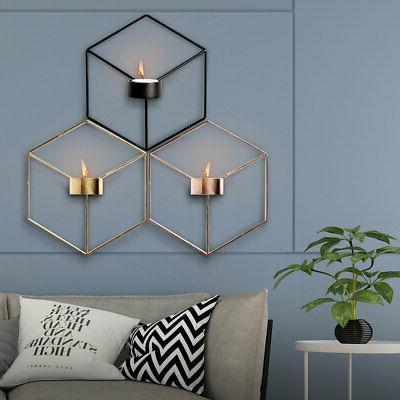US 3D Candlestick Iron Wall
