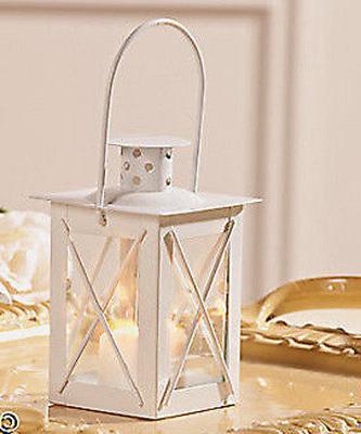 6 white wedding stand