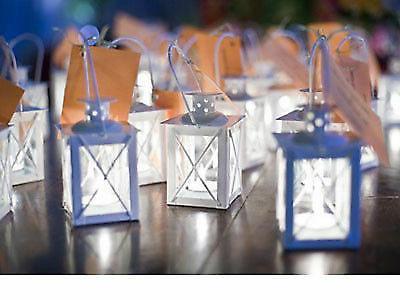 6 lot MINI white Holder wedding favor centerpiece & stand