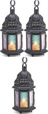 6 Magic Rainbow Candle Lanterns NEW