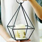 Iron Candle Holder Candlestick Desk Decor Ornament Wedding S