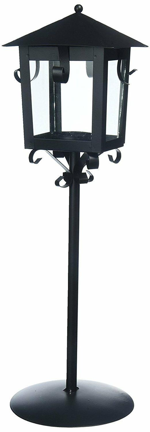 "Lantern Metal with Stand 14.37"" High Darice 2421-30 Weddings"