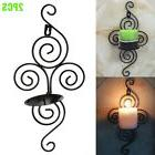 Wall Candle Holder Candlestick Sconce Home Kitchen Wedding E