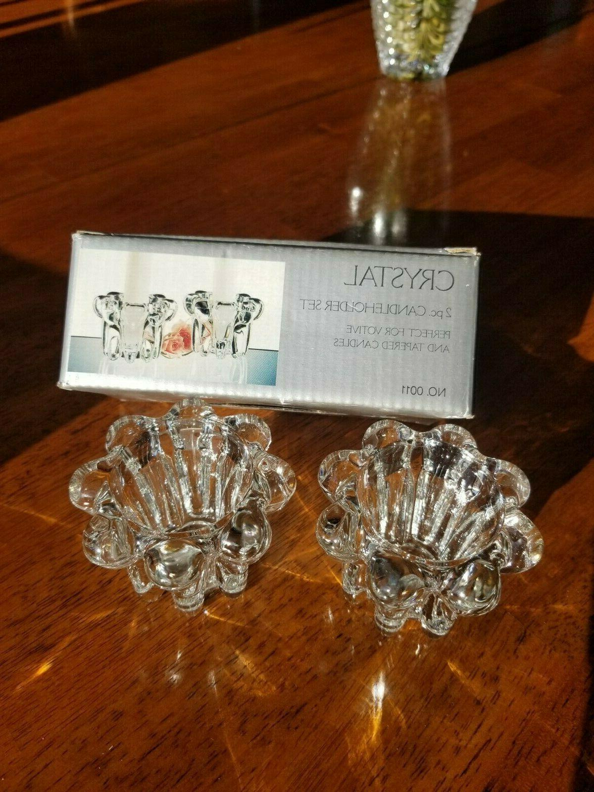 Alco Crystal Candle Votive Candles