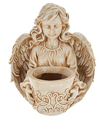angel planter flowerpot