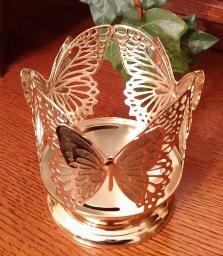 Bath Butterfly Pedestal Holder