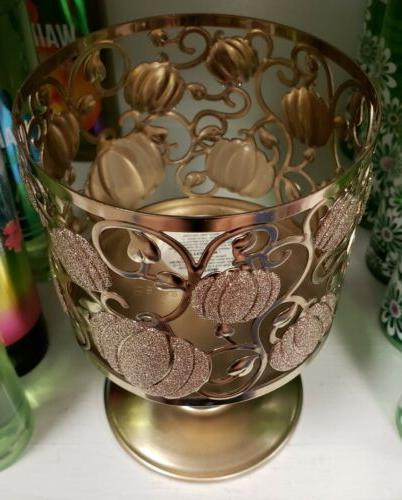BATH WORKS SHIMMER PUMPKIN PEDESTAL