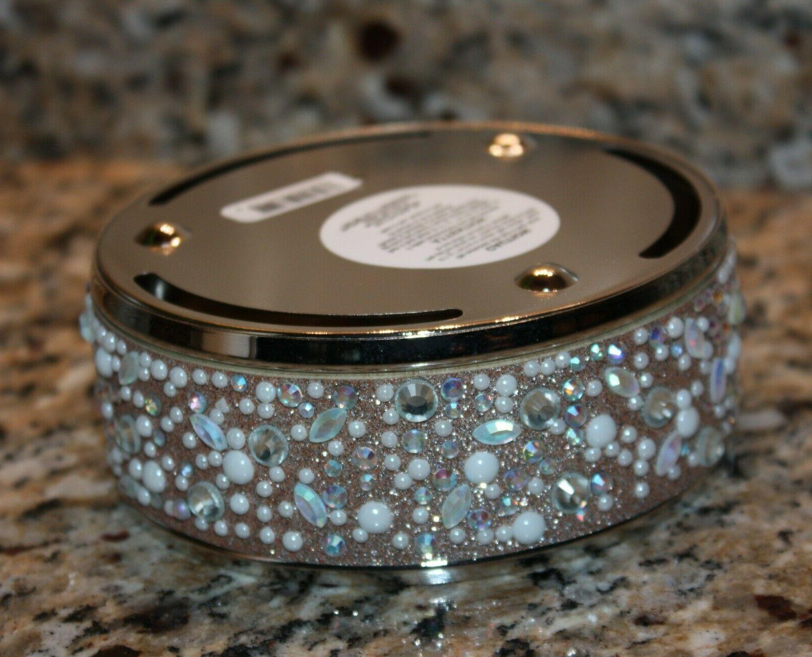 Bath Body Silver & Candle For Candle