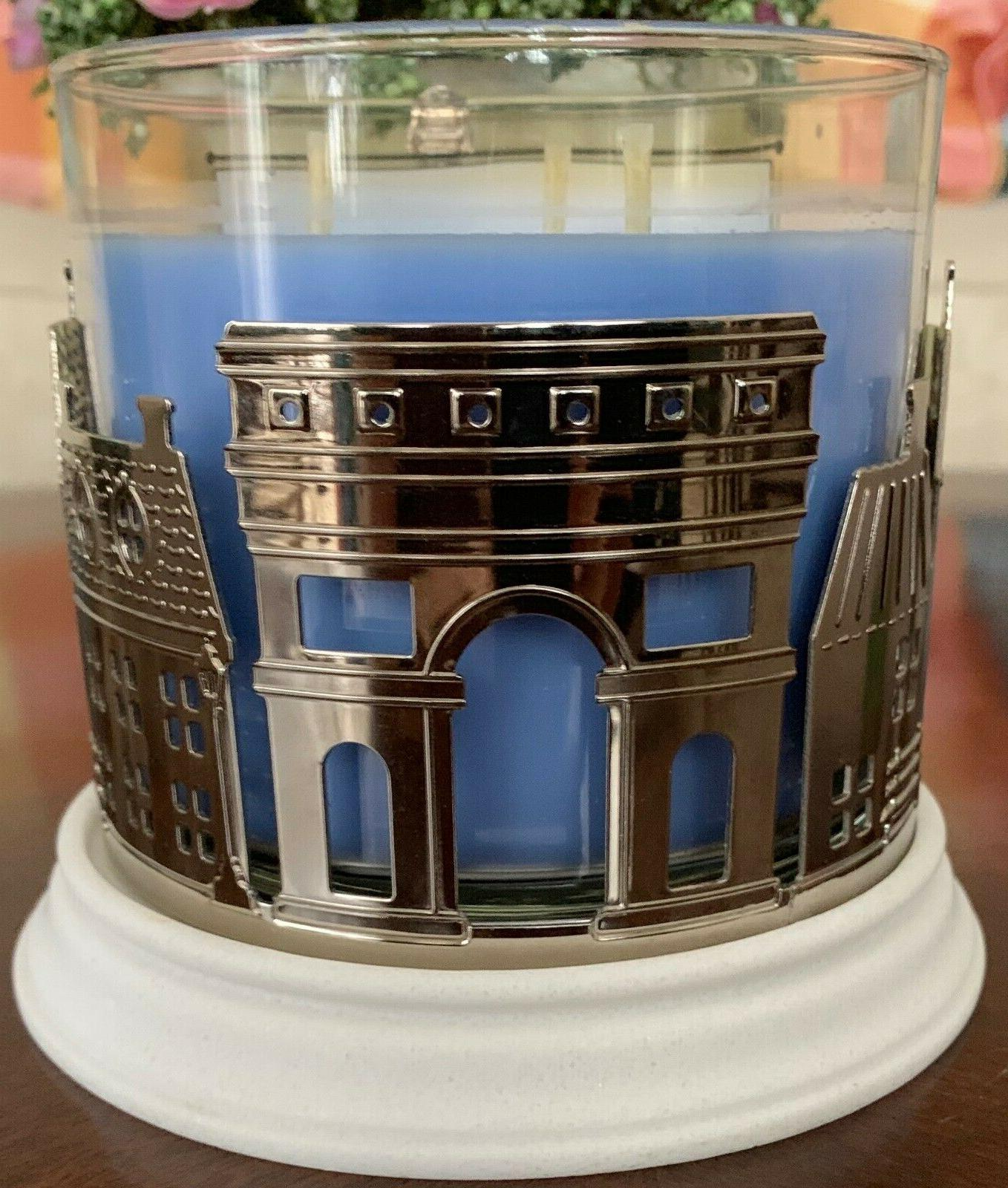 BATH WORKS STREETS OF PARIS WICK HOLDER TOWER