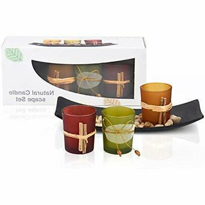 best gift tea light candle holder set