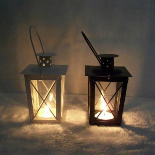Romantic Romantic Candle Holder Retro Hanging Lantern Lamp D