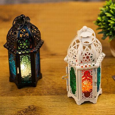 Moroccan Tea Lamp Hanging Home Garden Decor