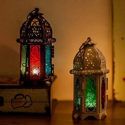 Moroccan Tea Lamp Candle Holder Home Garden Wedding