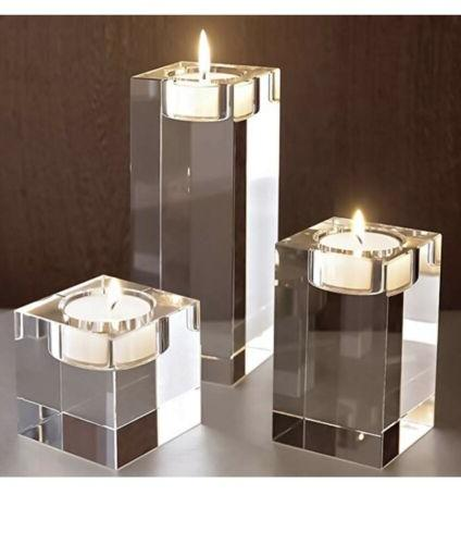 Amazing Candle Set of inches Height Elegant Heavy Cr