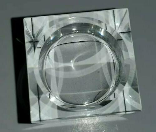 Amazing Crystal Holders Elegant Heavy Cuboid Tealight
