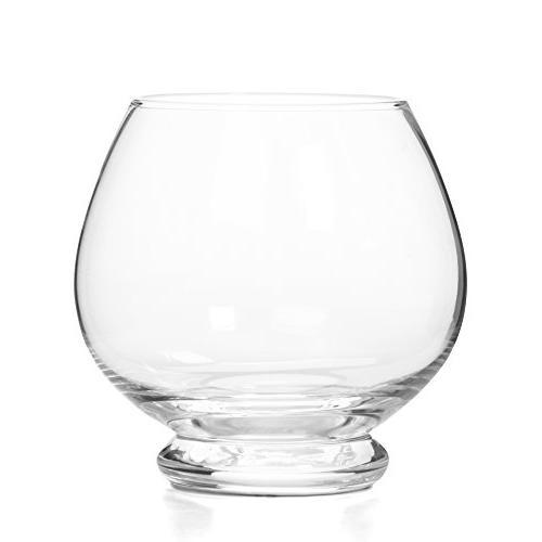 crystal clear glass tea light