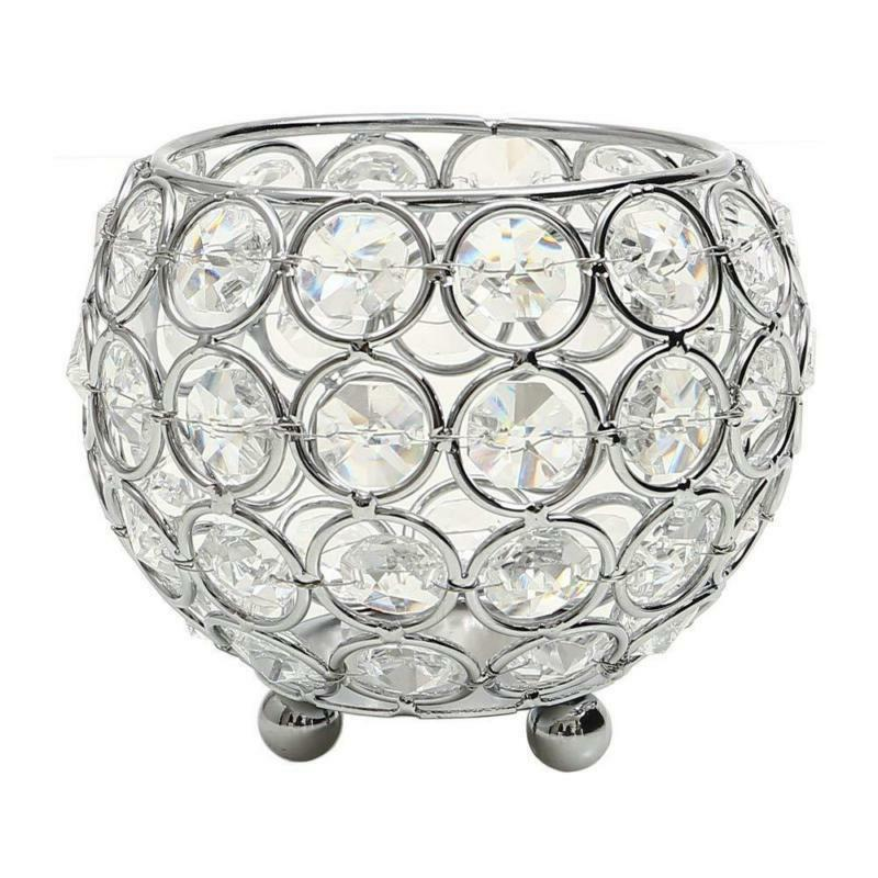 Vincigant Crystal Tea Light Candle Holders/Modern Candle Sha