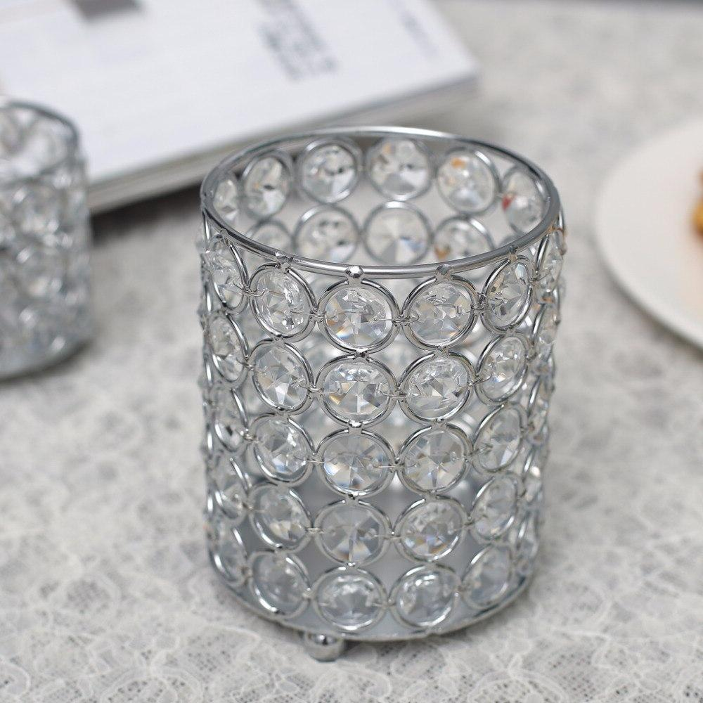 Cylinder <font><b>Holders</b></font> Cup Stand Vase Home Wedding Christmas Halloween Centerpieces