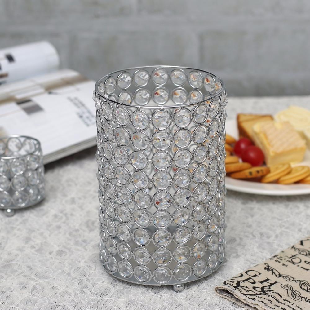 Cylinder Tealight Stand Wedding Halloween Decoration Centerpieces
