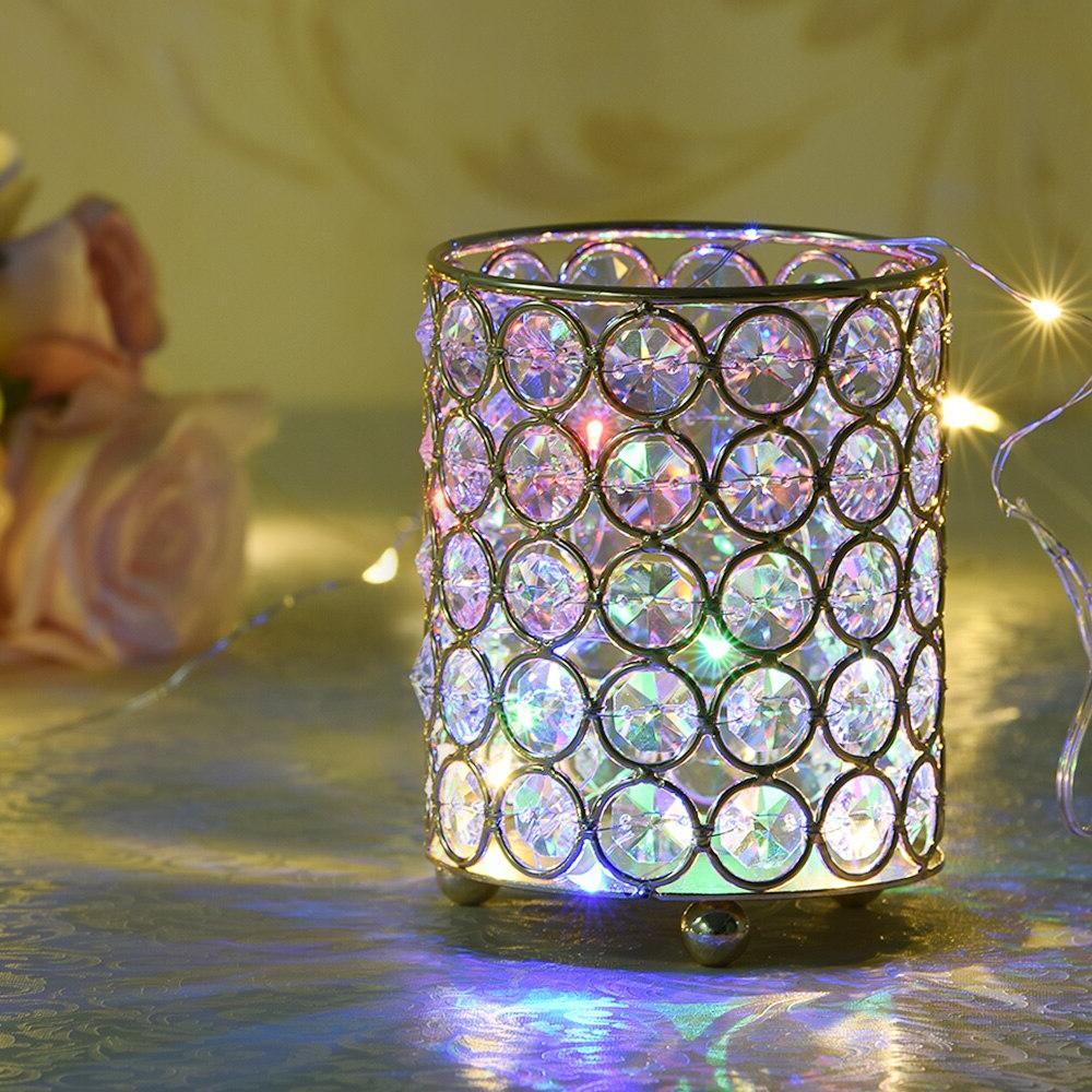 cylinder glass tealight font b candle b