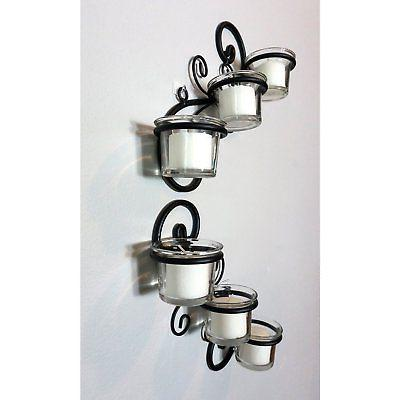 Stonebriar Light Candle Holder Wall Sconce - 2