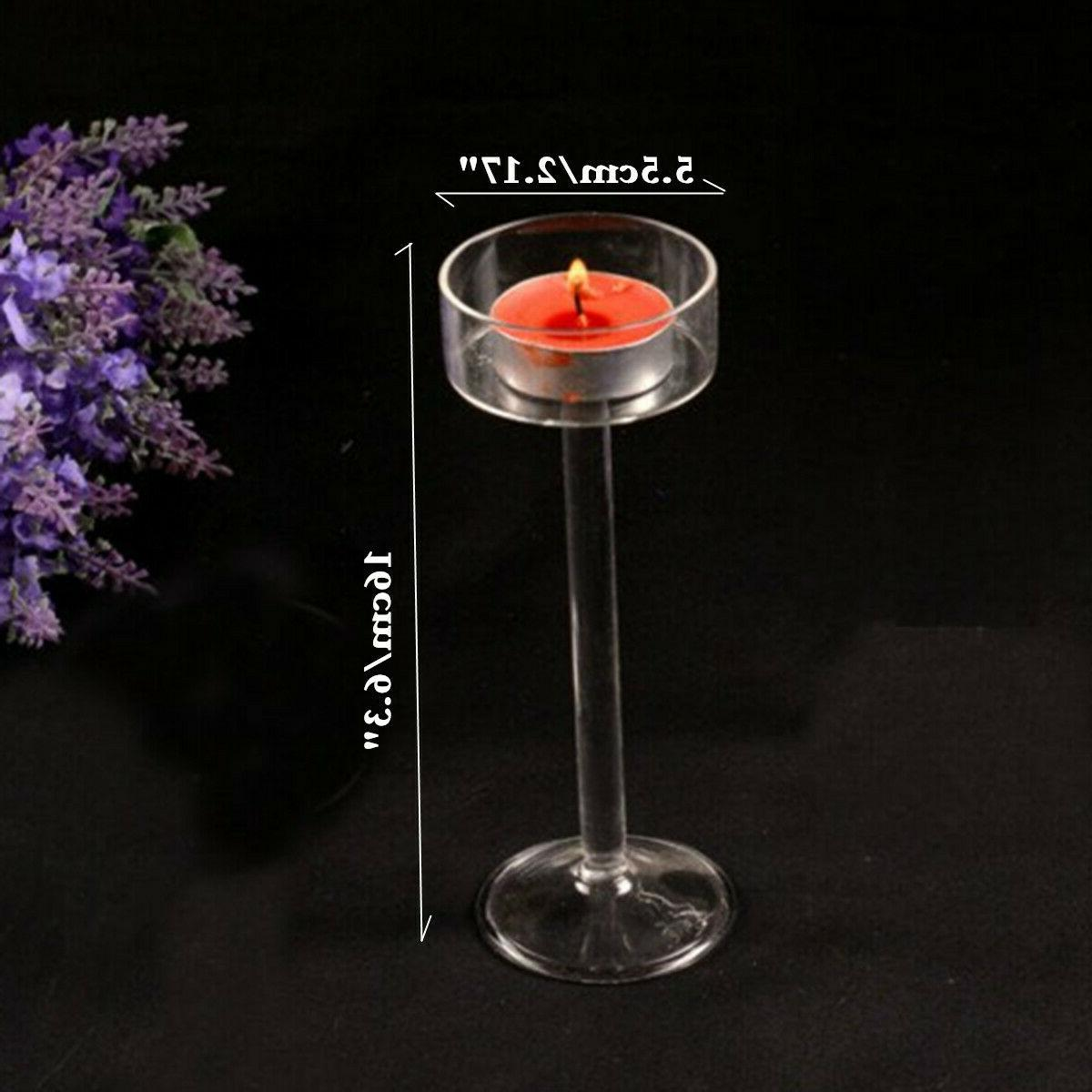 Elegant Glass Candle Holder Party