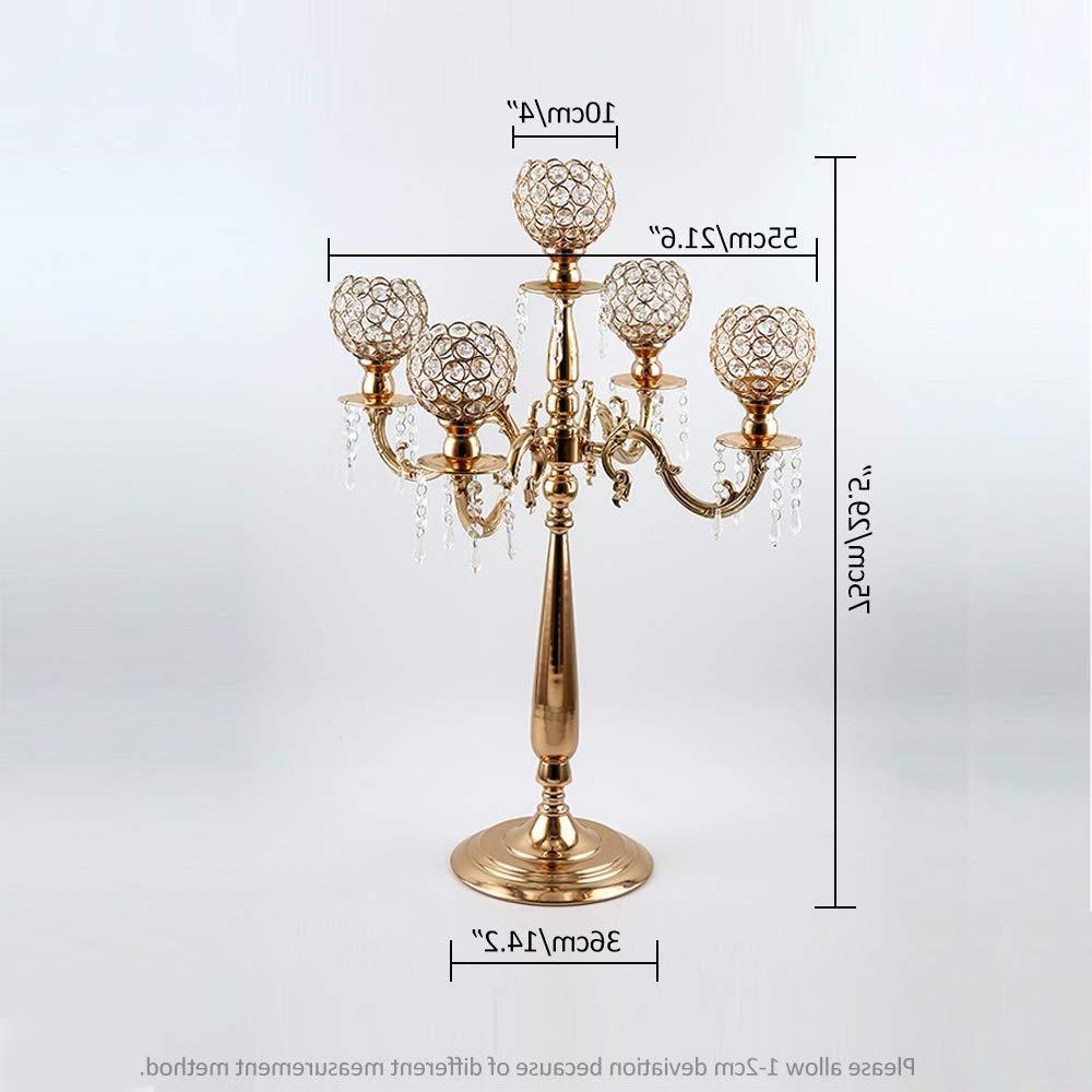 font b b font 5 arms candelabra