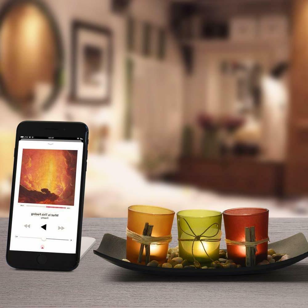 Best Gift Tea Light Candle W 3 Rocks &