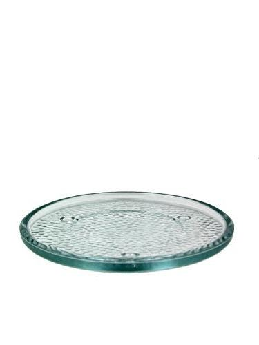 Glass Candle Holder Clear 6 in. Beautiful Candle Trivet