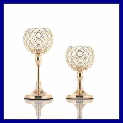 VINCIGANT Crystal Holders Wedding Decorative C