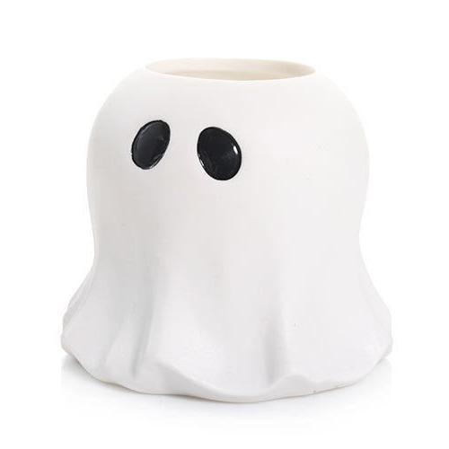 hallows eve ghost tea light