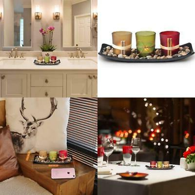 Home Decor Candle Holders Set For Living Room & Bathroom Dec
