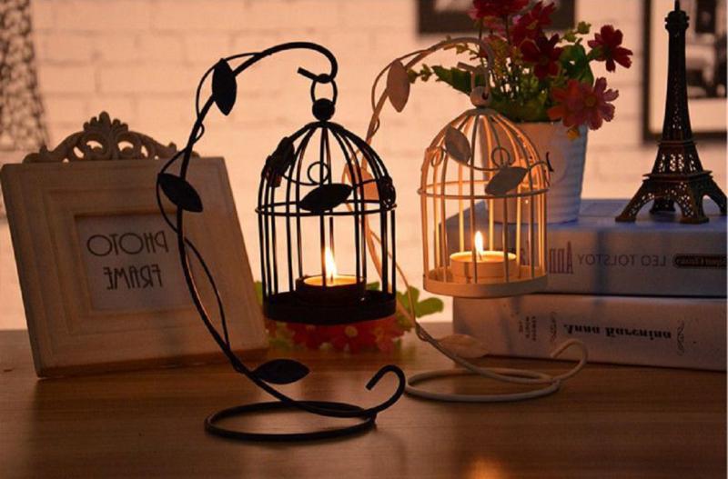 Candlestick Lantern Decor