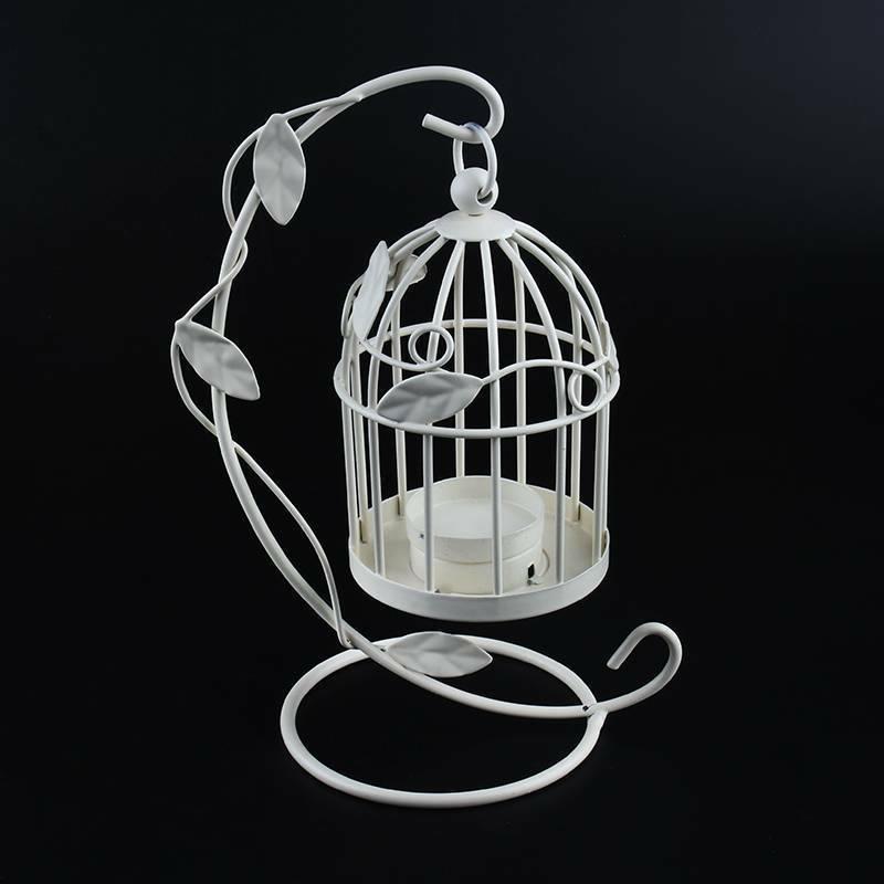Iron Candlestick Cage Lantern Wedding