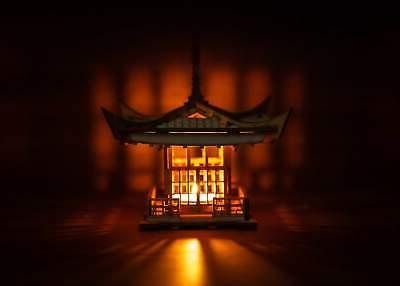 Japanese Lantern! Mini 3D Light To Get
