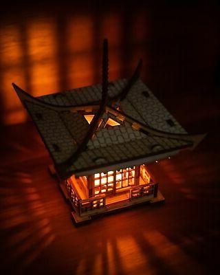 Japanese Pagoda A Mini 3D Kit Light Candle Holder To Get Peace