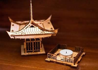 Japanese Lantern! Mini 3D Light Get Peace