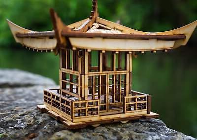 Japanese Pagoda Lantern! Mini Kit Light Candle Get