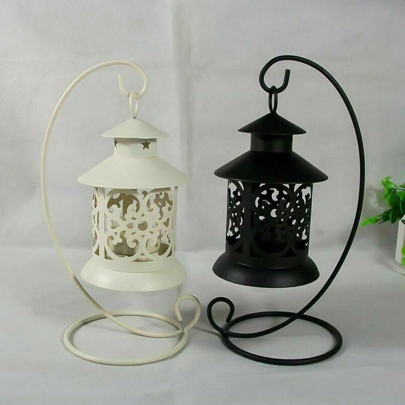 Lantern Tealight Candle Stand Party Candle Light New