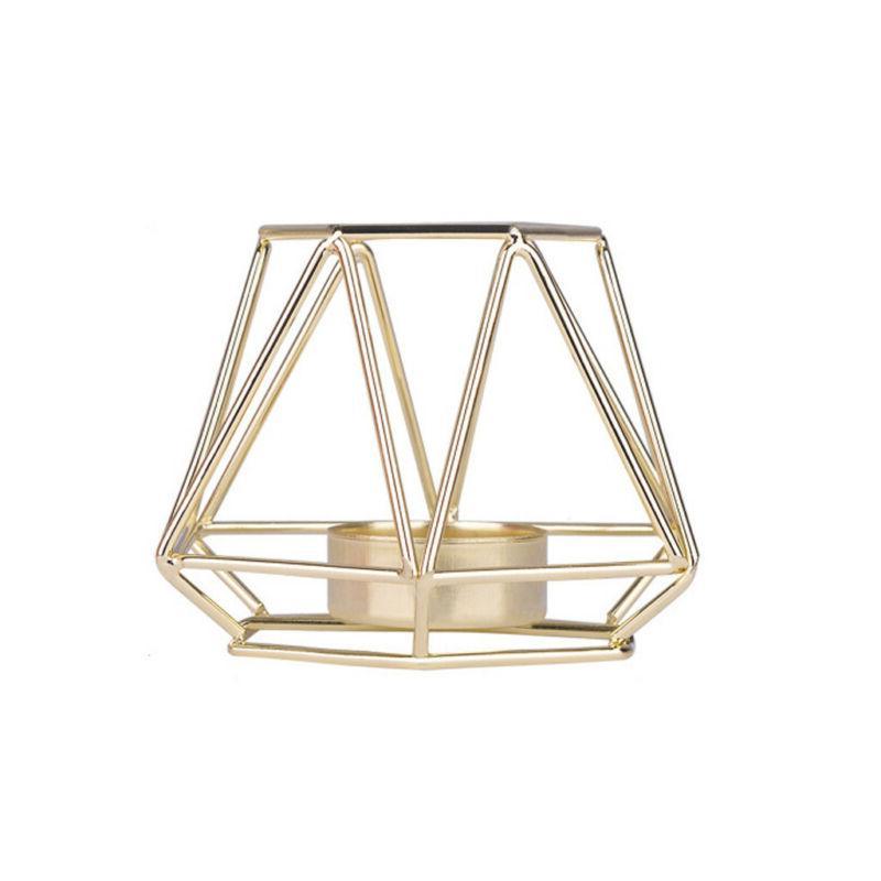 Vintage Metal Tea Candle Holder Decor Birdcage Lamp
