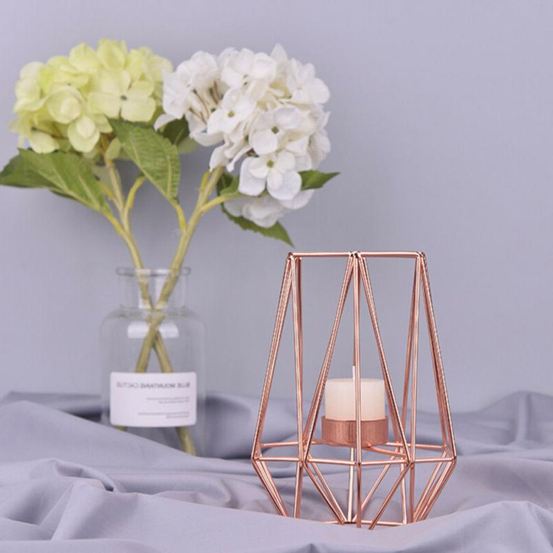 Vintage Metal Tea Candle Wedding Table Decor Birdcage Lantern