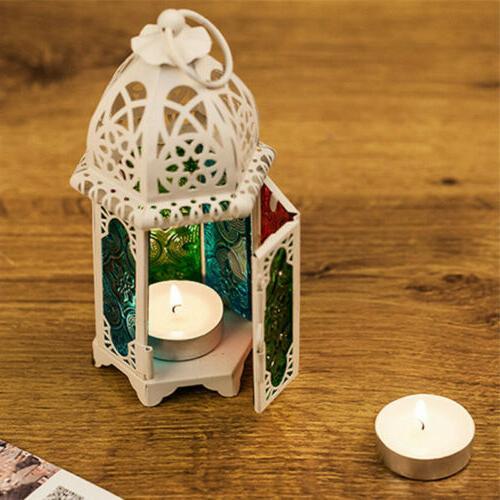 Moroccan Lantern Lamp Holder Home Garden Wedding