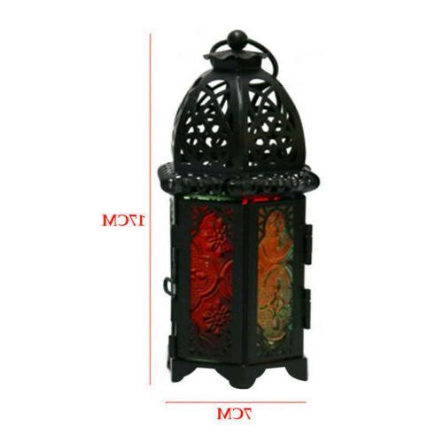 Moroccan Lantern Tea Lamp Candle Holder Home Garden Decor